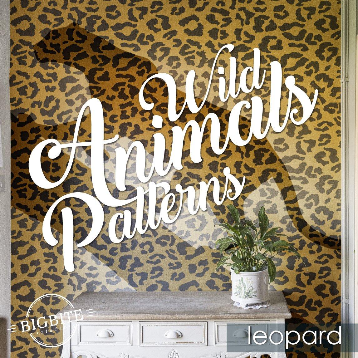 Zebra Print Pattern Square Wall Sticker