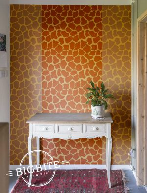 Mama Giraffe Print - Pattern Stencil