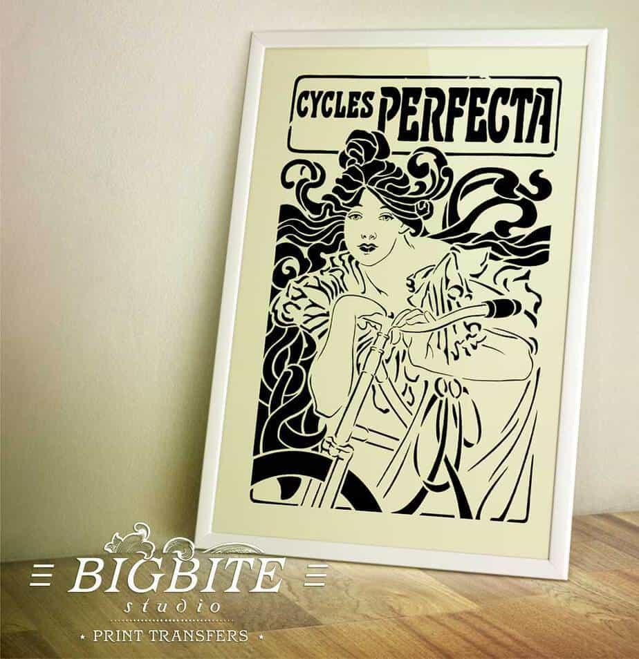 Vintage French Art Nouveau Shabby Chic Prints /& Posters 087 A1,A2,A3,A4 Sizes