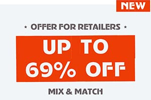 Mix & Match Discount Offer for Retailers
