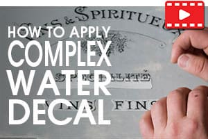 How to Apply Complex Water Decals - Tutorial