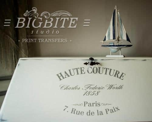 Screen printing:Haute Couture