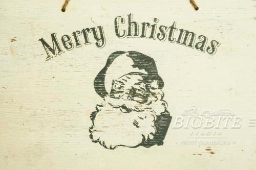 Screen printing:Merry Christmas