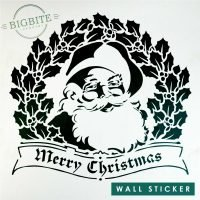 Vinyl Decal Preview: Vintage Santa Merry Christmas Seasonal Greetings